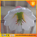 Large outdoor stage decoration hanging led Christmas inflatable flower, five-pointed hanging lighted inflatable flower