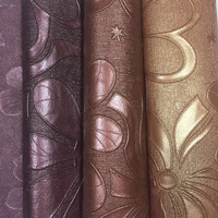Artificial PVC leather for making sofa material