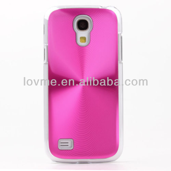 CD Pattern Metallic Hard Cover Skin Shell for Samsung S4 Mini