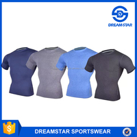 Quick Dry Gym Sports Jersey Shirts & Tops Mens