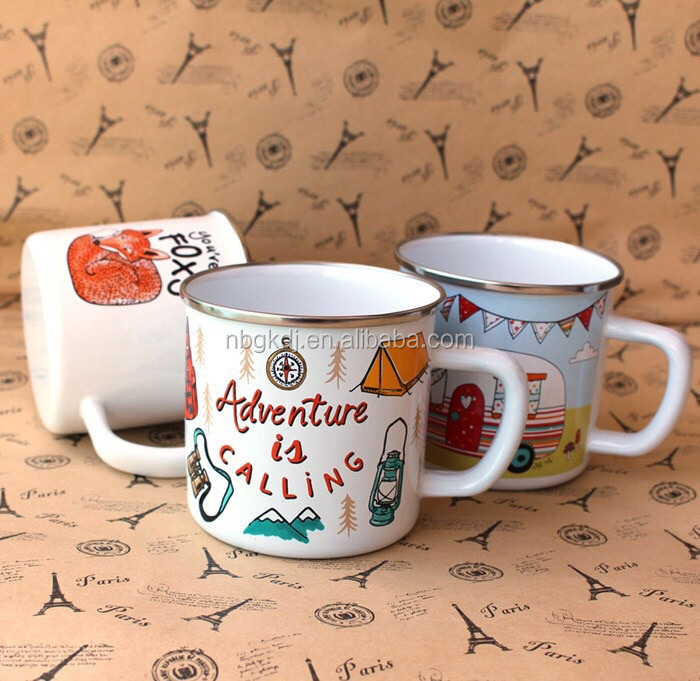 enamel mug cup & new design children and family