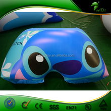 High Quality Cartoon Printed Giant Inflatable Underwear / Male Inflatable Pants Models For Sale