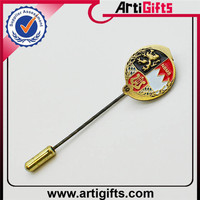 Factory direct sale metal custom made three layers soft enamel 3d pin badge