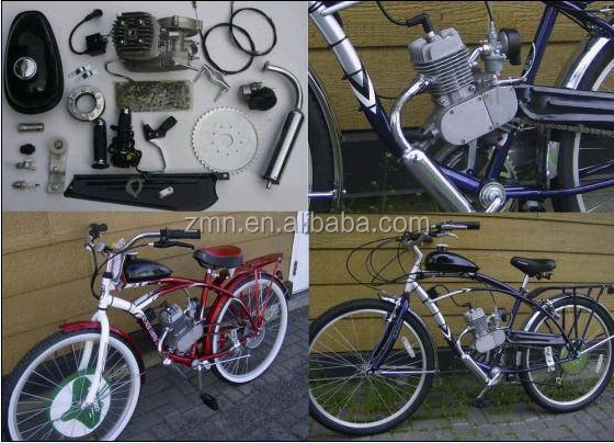 80cc 2 cycle motor kit for bicycle/gas powered motorized bike engine kit