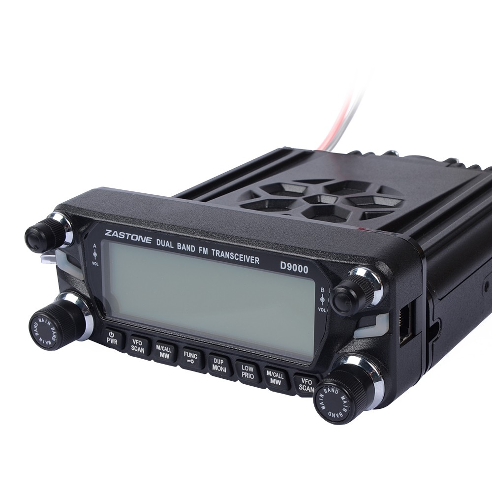 2016 new launch DUAL BAND TRANSCEIVER ZASTONE ZT-D9000 50w mobile radio car mounted two way radio