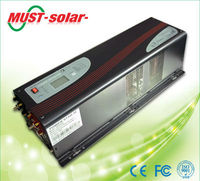 Wind Solar power inverters 240v 6000w with auto charger solar and wind power inverter