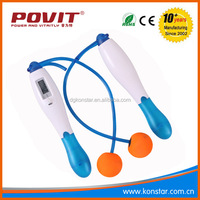 electronic skipping speed aerobic exercise digital count jump rope