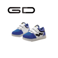 GD Children size strap shoes colorful LED shoes for Children shoes