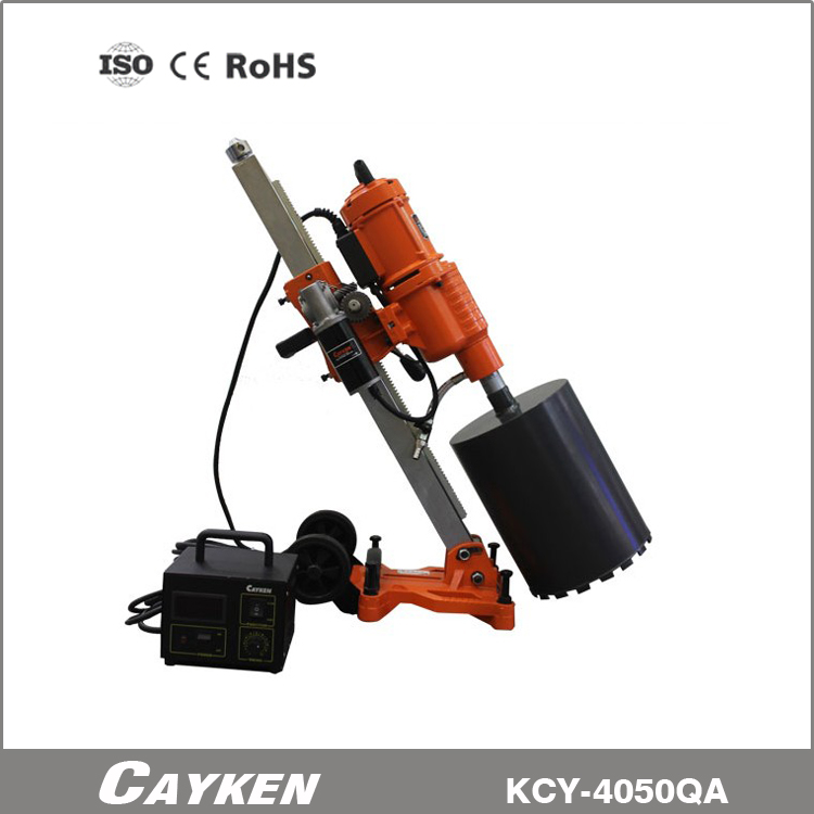 CAYKEN SCY-4050QA auto feed diamond drill with control box