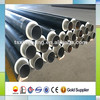factory price large size thermal insulation pipe with pu foam and hdpe coating for commercial center heating pipeline