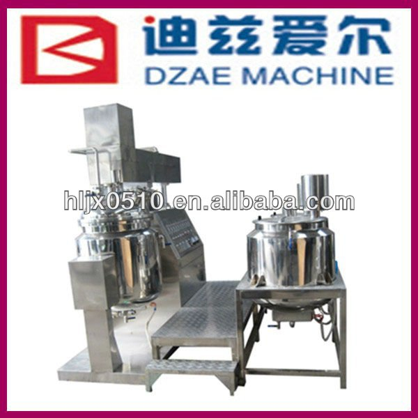 used automatic vacuum ointment emulsifier mixer