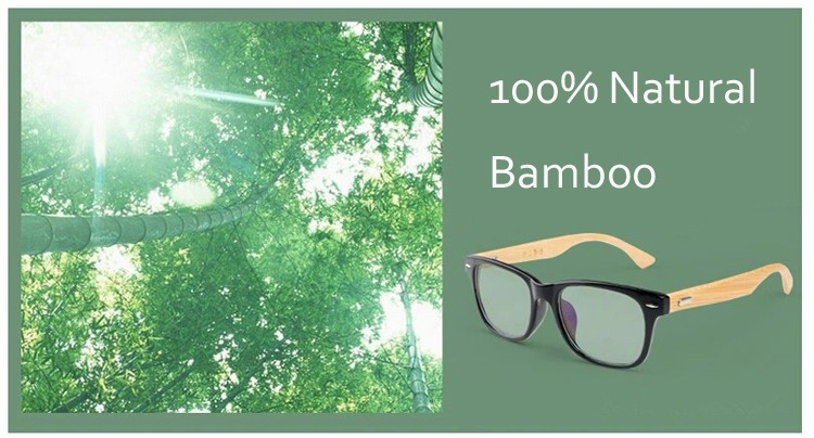 New Fashion Bamboo Sunglasses Men Wooden Sunglasses Men Brand Designer Mirror Wood Sun Glasses Oculos de sol masculino CC5049
