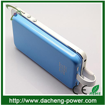Sucker design hotly selling 4000mAh external power bank for lenovo iphone Samsung