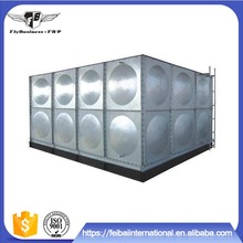 1m*1m Panel Galvanized Steel Rain Water Tank, Steel Tower Rainwater Storage Water Tank Stands