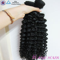 Most Popular New Arrival High Quality Peruvian Deep Curl Black Star Hair Weave