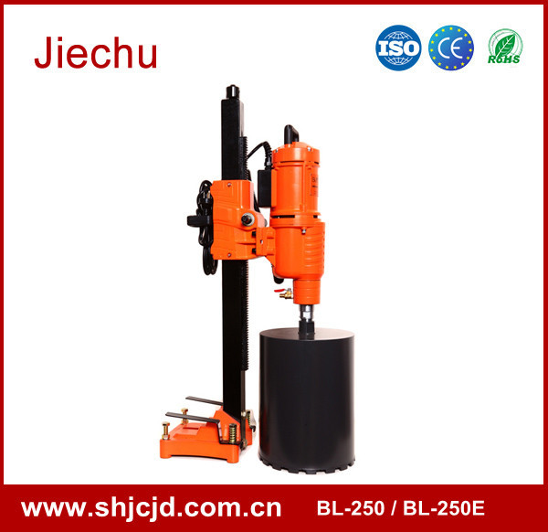 BENLI 250mm heavy duty core drill machine drilling machine for granite and marble BL-250E