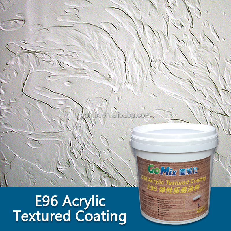 Dirt and Mildew Resistant E96 Textured Paints for Exterior Walls