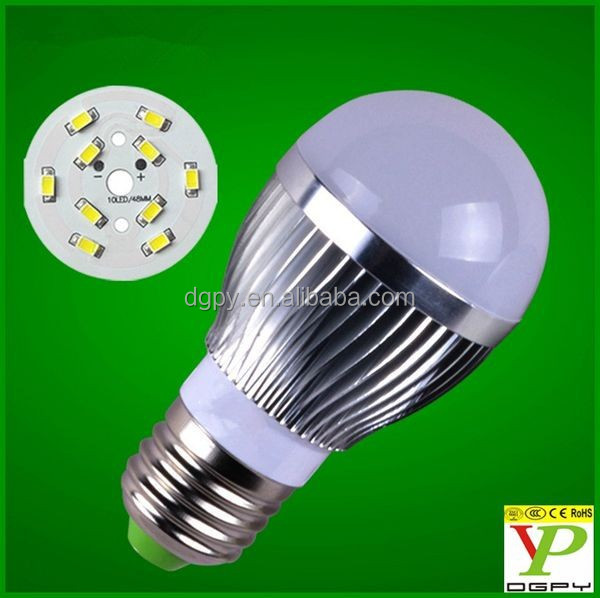 Made in China Energy saving lighting products SMD5730 E27 Alluminum Ally led bulb light