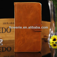 FL2729 2013 Guangzhou hot selling Luxury Genuine Real Leather Flip Case Wallet Cover for samsung galaxy mega 6.3 i9200
