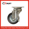 caster wheels high class rubber wheel with locking side caster