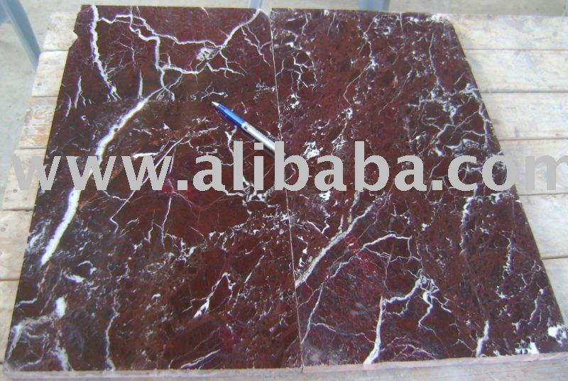 Red Zebra Marble