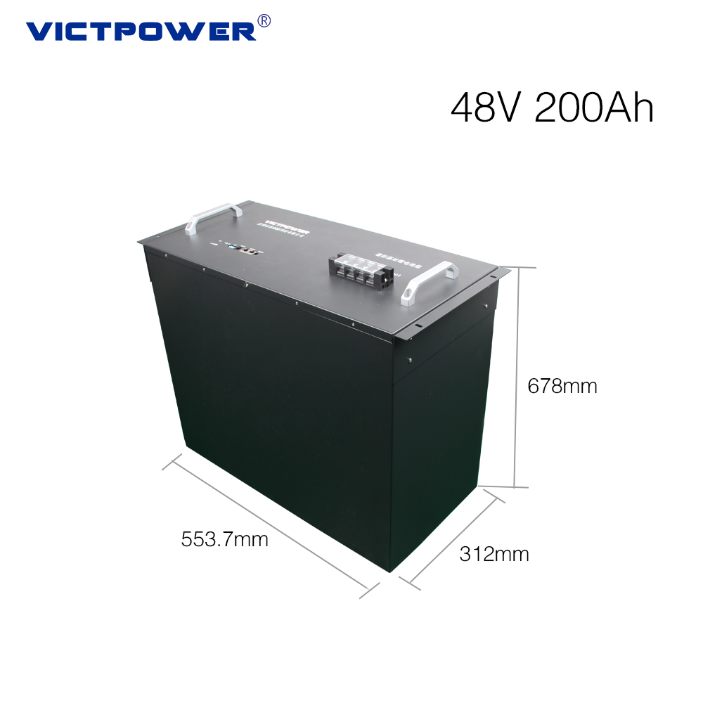 Lithium-ion battery for telecom applications 48v 200ah renewable energy system
