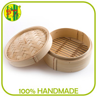 Reusable Bamboo Steamer Basket for Bread and Vegetable