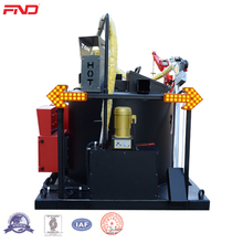 Asphaltic Concrete Pavements Crack Sealing Machine With Crack Grooving Machine In The Truck