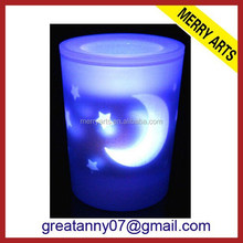 china manufacturer cheap wholesale moon and star LED Blow On-Off Candle light