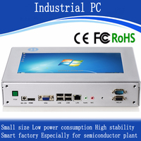 Low consumption touchscreen good price X86 industrial PC all in one