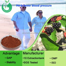 1-Deoxynojirimycin (DNG)Herb lower blood pressure /Different plant extract for lower blood pressure /drinks lower blood pressure