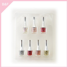 Private label makeup Nail Polish real nail polish sticker glitter design shine nail polish supplies makeup factory