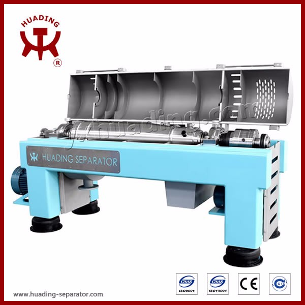 Quality decanter centrifuge for salt chemical in titanium of CE Standard