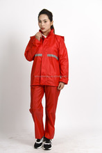 High quality motorcycle rain suit / men and women rain wear / wholesale rain coat