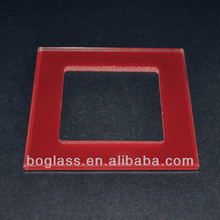 wall glass switch panel, tempered glass switch plates