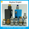 2018 New Coppervape skydrop kit Ultem PC driptip can Match standard skyline Rta in stock now! Hot
