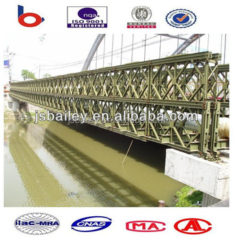 bailey bridge steel structure