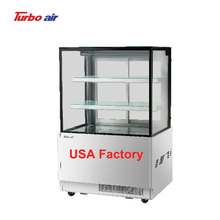 TBP900-2 2 <strong>shelves</strong> 3 layer bakery counter top refrigerated cake showcase display fridge display rectangle bakery case