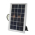 New design white Solar 40w LED lantern,solar panel and 2.5m cable with mobile phone charge