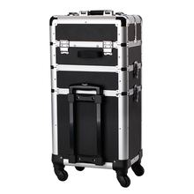 New Products 2018 Innovative Product Makeup Trolley Aluminium Cosmetic Case