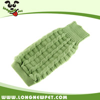 Fashionable Green Dog Clothes Dog Coat Wear Large Pet Apparel Puppy Sweaters