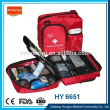 Outdoor First Aid Kit , Plastic Medical Box