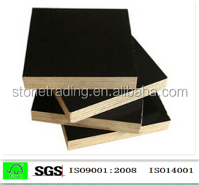 2016 Hot Sale brown\black 12mm plywood used in concrete building