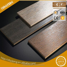 wood look tiles ceramic/porcelain wooden floor tile/china building material