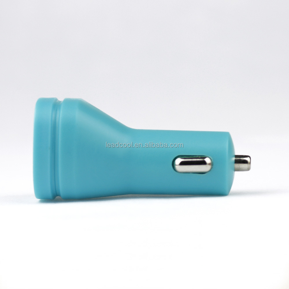 Best seller 5V 3.1A Dual usb car charger for iphone 5 and adroid tablet cell phone charger phone accessory