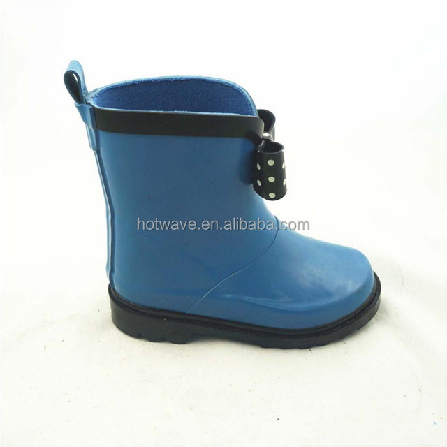 China Manufacturer Unique Waterproof Cheap Rubber Rain Boots For Kids
