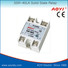 adjustable solid state relay SSR DC to AC SSR-40 LA