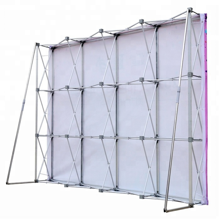3*4 aluminum one fabric pop up <strong>displays</strong> backdrop <strong>display</strong>