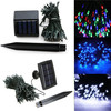 60 LEDs Commercial solar string light outdoor decorative home lamp holiday garden Christmas lighting