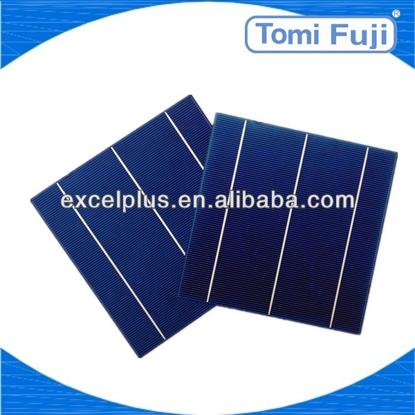 2013 Cheap price PV poly solar cell , 2BB,6x6 inch high efficiency solar energy